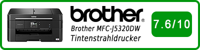 Brother MFC-J5320DW Tintenstrahldrucker: Multifunktionsdrucker Testbericht