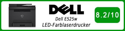 Dell E525w LED-Farblaserdrucker: Multifunktionsdrucker Testbericht