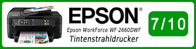Epson WorkForce WF-2660DWF Tintenstrahldrucker: Multifunktionsdrucker Testbericht