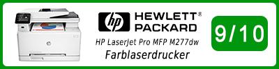 HP LaserJet Pro MFP M277dw Farblaserdrucker: Multifunktionsdrucker Testbericht