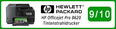 HP Officejet Pro 8620 Tintenstrahldrucker: Multifunktionsdrucker Testbericht