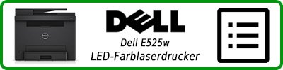 Dell E525w LED-Farblaserdrucker: Multifunktionsdrucker Infobericht