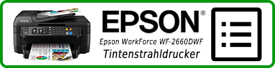 Epson WorkForce WF-2660DWF Tintenstrahldrucker: Multifunktionsdrucker Infobericht