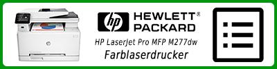 HP LaserJet Pro MFP M277dw Farblaserdrucker: Multifunktionsdrucker Infobericht
