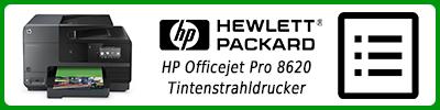 HP Officejet Pro 8620 Tintenstrahldrucker: Multifunktionsdrucker Infobericht