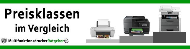 Preisklassen von Multifunktionsdruckern - Einsteigerklasse, Mittelklasse und Premiumklasse (Beitragsbild neu