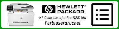 HP Color Laserjet Pro M281fdw Farblaserdrucker: Multifunktionsdrucker Infobericht