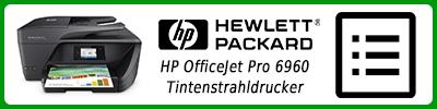 HP OfficeJet Pro 6960 Tintenstrahldrucker: Multifunktionsdrucker Infobericht